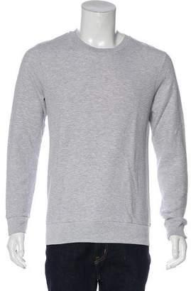 Theory Printed Crew Neck Sweatshirt