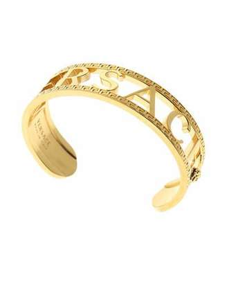 7b3ba05ebc1 Versace Men's Logo/Greek Key Cuff Bracelet