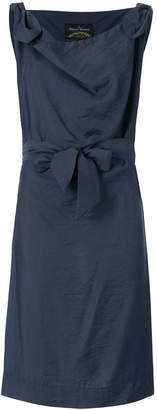Vivienne Westwood ruched bow dress