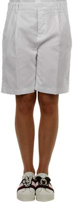 Aspesi Cotton And Linen Shorts