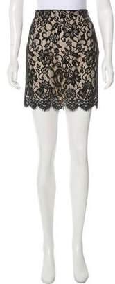 Haute Hippie Lace Mini Skirt w/ Tags