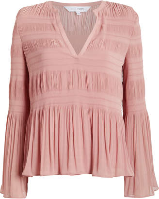 Intermix Essie Pleated Blouse