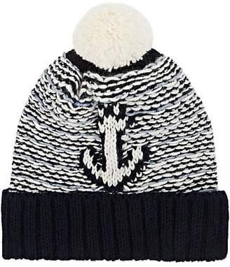 Thom Browne Men's Anchor-Motif Wool-Mohair Beanie
