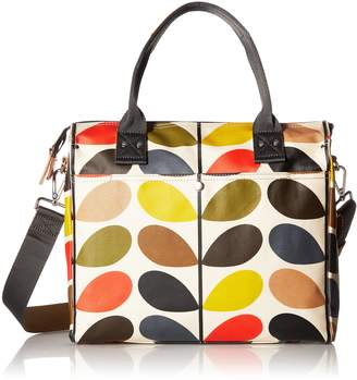 Orla Kiely Stem Zip Messenger Shoulder Bag