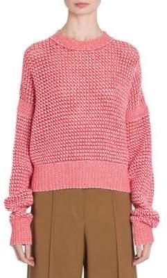 Jil Sander Cashmere Net Stitch Pullover Sweater