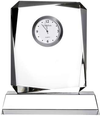 """Orrefors Crystal Table Clock """"Vision"""""""