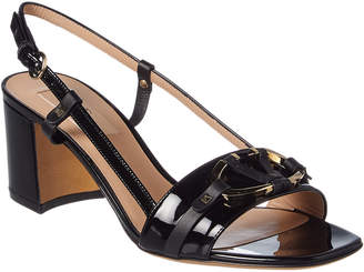 Valentino V-Rivet Patent Sandal