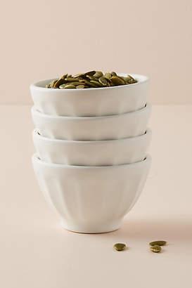 Anthropologie Mini Matte Latte Bowls, Set of 4