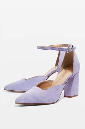 Topshop Gloria Two Part Court Shoes