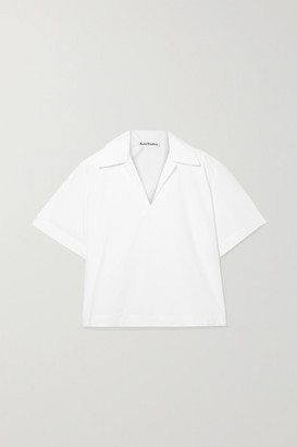 Acne Studios Sasha Cotton-poplin Shirt - White
