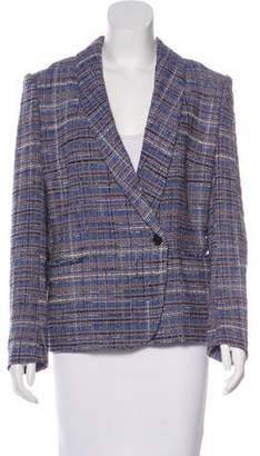 Isabel Marant Tweed Shawl Collar Blazer