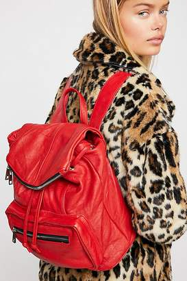 Pelechecoco Bow Leather Backpack