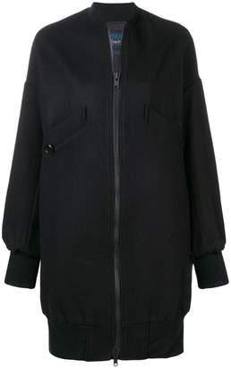 Yohji Yamamoto long bomber jacket