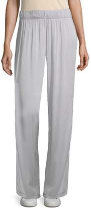 Electric & Rose Essex Satin Wide-Leg Track Pants