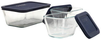 Pyrex Storage Plus Rectangular Dish 3 Container Food Storage Set