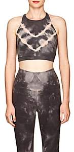 Grayson Electric & Rose Women's Stretch-Cotton Crop Top - Charcoal