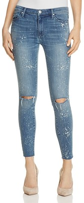 Black Orchid Noah Ankle Fray Jeans in Hysteria $158 thestylecure.com