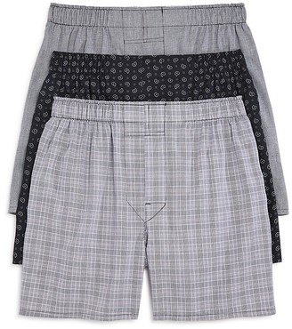The Men's Store at Bloomingdale's Cotton Boxers - Pack of 3 - 100% Exclusive $36.50 thestylecure.com