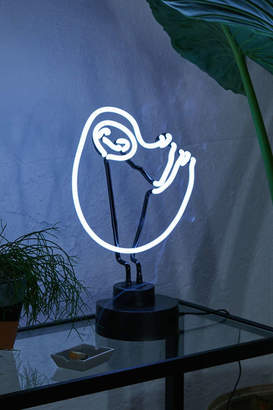 Sloth Neon Sign Table Lamp