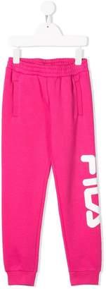Fila Kids logo track pants