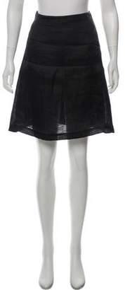 Christian Lacroix Silk Knee-Length Skirt