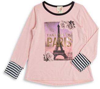 Lily Bleu Girls 2-6x Take Me to Paris Top $26 thestylecure.com