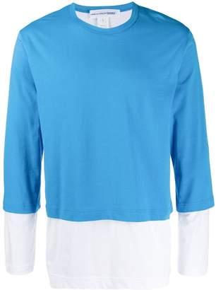 Comme des Garcons layered T-shirt