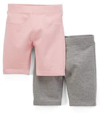 Freestyle Revolution Toddler Girls' Burmuda Shorts, 2-pack