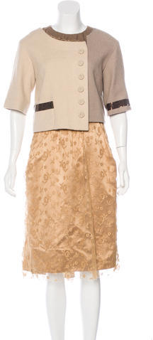 Marc JacobsMarc Jacobs Embellished Lace Dress w/ Tags