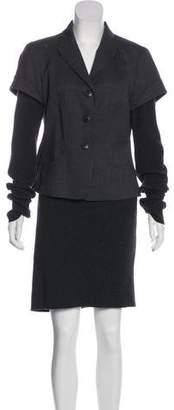 HUGO BOSS Boss by Wool Knee-Length Skirt Set