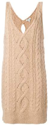 Kenzo cable knit dress