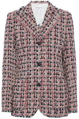 Sonia Rykiel Frayed Cotton-Blend Tweed Blazer