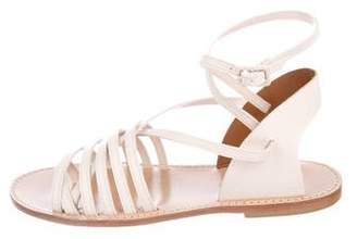 Band Of Outsiders Leather Ankle Strap Sandals w/ Tags