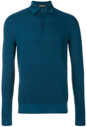 Loro Piana longsleeved polo jumper