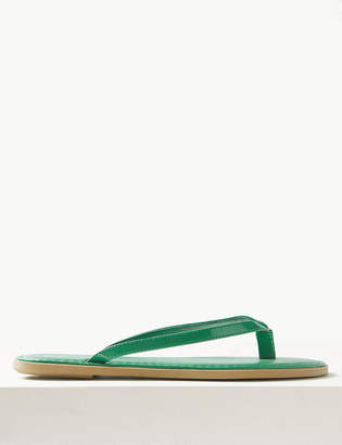 Marks and Spencer Stitched Flip-Flops