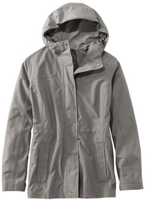 L.L. Bean L.L.Bean Women's H2OFF Rain Jacket, PrimaLoft-Lined