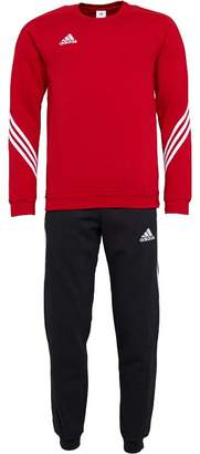 adidas Mens Sereno 14 Sweat Suit University Red/White/Black