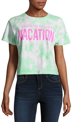 Freeze Vacation Cropped Tee - Junior