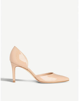 LK Bennett Flossie patent-leather courts