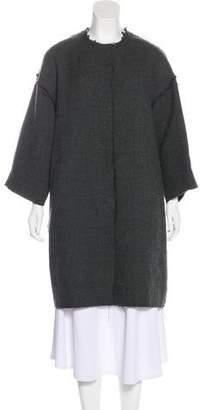 Marni Virgin Wool-Blend Knee-Length Coat