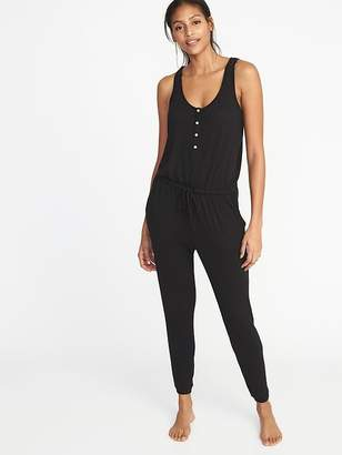 Old Navy Relaxed Plush-Knit Sleep Jumpsuit for Women