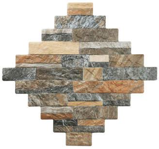 EliteTile Seidel - Francesco Porcelain Floor and Wall Tile in Brown