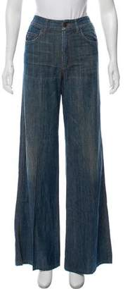 Prada Sport High-Rise Flare Fit Jeans w/ Tags