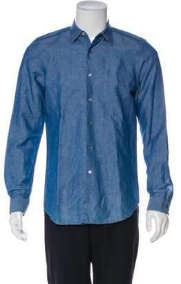 Paul Smith Linen Chambray Shirt