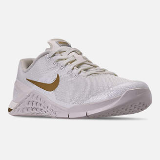 Nike Women's Metcon 4 Champagne Training Shoes