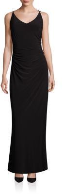 Laundry by Shelli Segal Crossback Gown $195 thestylecure.com