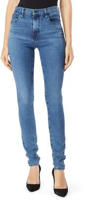 J Brand Carolina Super High Waist Skinny Jeans