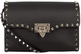 Valentino Leather Small Rockstud Cross Body Bag