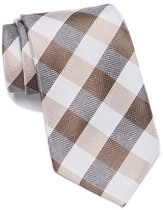 Calvin Klein Modern Picnic Check Tie