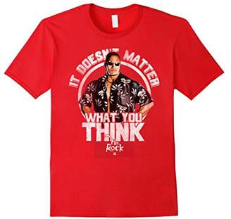 """WWE The Rock """"It Doesn't Matter What You Think"""" T-Shirt"""